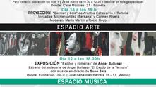 CANCELADA Agenda Marzo 2020 #EspacioC. Espacio Mujer. Espacio Arte. Espacio Música