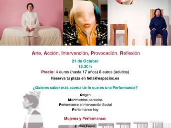 21 de Octubre. Conferencia Performativa por Costa Badía
