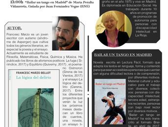 27 de Mayo. Presentación literaria con Francesc Marzo y María Peralta