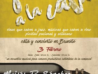 3 de Febrero. Moisés P. Sánchez en Jazz a la Cata, encuentros eno - gastro - musicales
