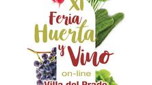 XI Feria de la Huerta y el Vino de Villa del Prado Online. Espacio C y Castillos en el Aire diseñan