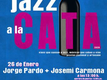 26 de Enero. Entradas Agotadas para Jorge Pardo + Josemi Carmona en Jazz a la Cata