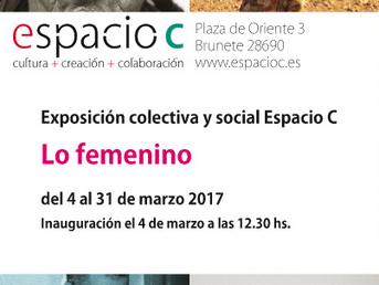 Lo femenino - Exposición. Del 4 al 31de Marzo