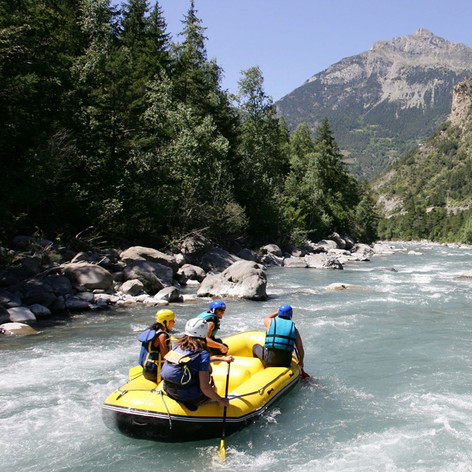 Rafting et Hot-Dog