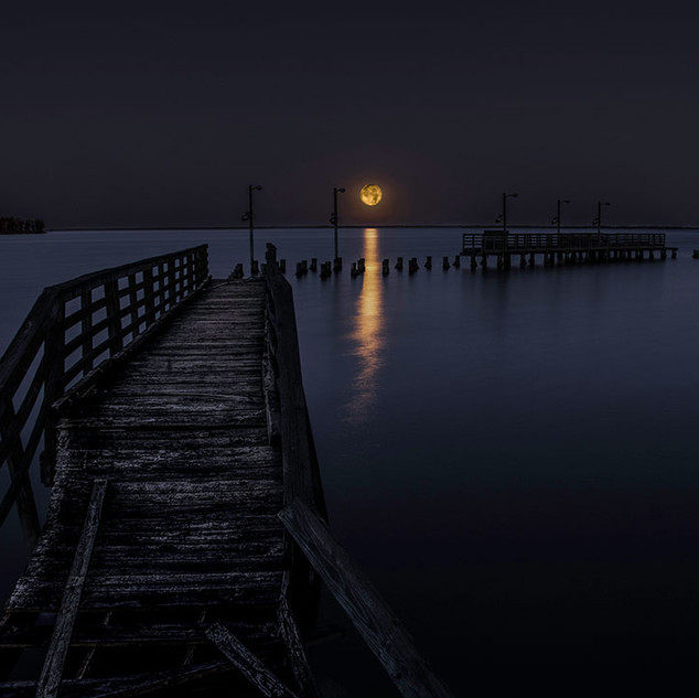 Steve Hack, Moon setting 2018