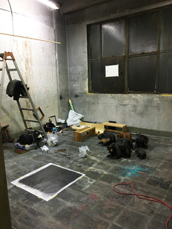 Production scene