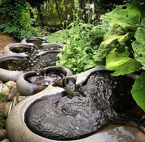 Flowform Vattentrappa