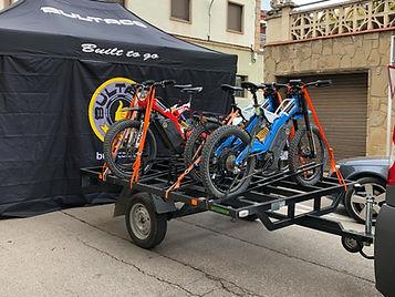 Remolque 8 Bicicletas