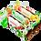 "Thumbnail: Шипучие бурлящие бомбочки для ванн ""Конфетти"" 110г"