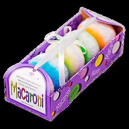 """Ароматизированная таблетированная соль для ванны""""Macaroni"""" 300г"""