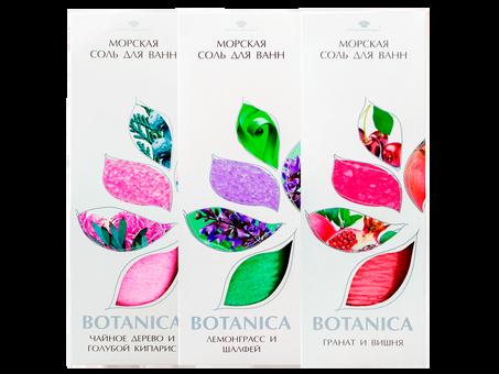 Соль для ванн «Botanica»