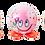 "Thumbnail: Шипучие бурлящие бомбочки для ванн ""OOPS"" cмайлики 6шт"
