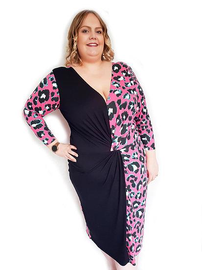 Eilidh Twist Dress - Saorsa PDF UK 20-34