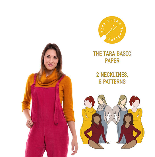 The Tara Basic - Paper Pattern
