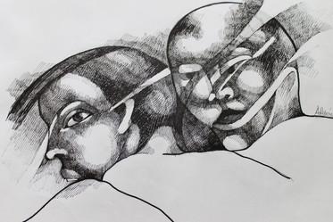 Serie máscaras / Masken 2