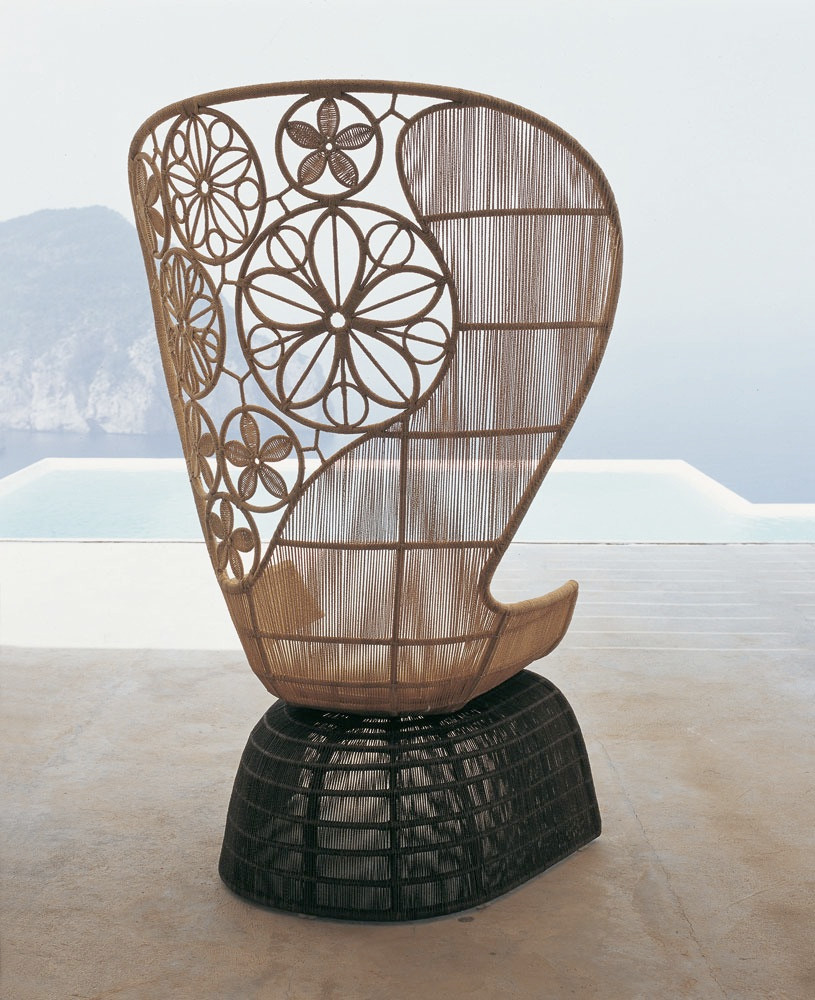 Crinoline Outdoor Chair