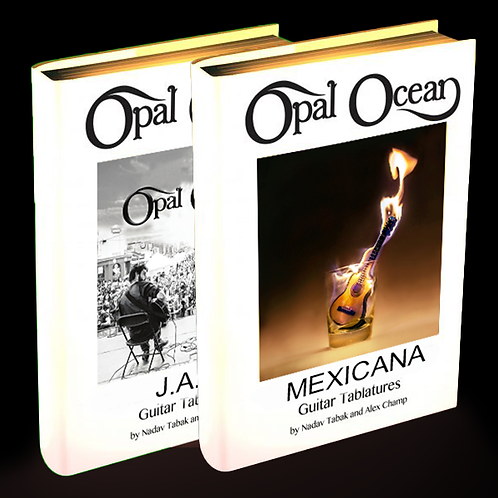 Mexicana + J.A.M - Official Guitar Tabs (Electronic Only)