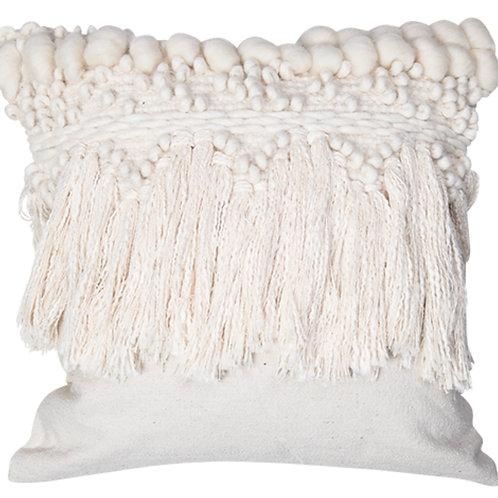 Ivory Boho Cushion 45x45cm
