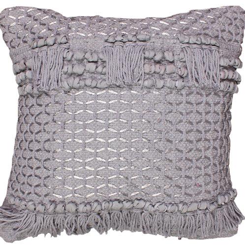 Splendid silver cushion 45x45cm