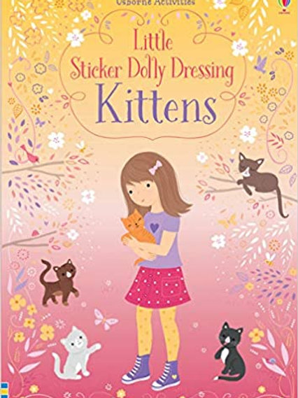 Little Sticker Dolly Dressing Kittens