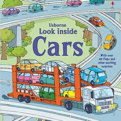 Look Inside Cars (Boardbook)