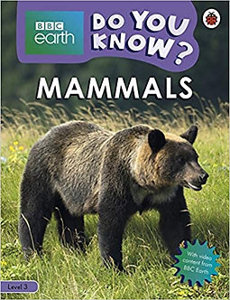 Do You Know? Level 3 – BBC Earth Mammals