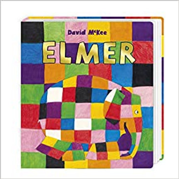 Elmer (Board book)