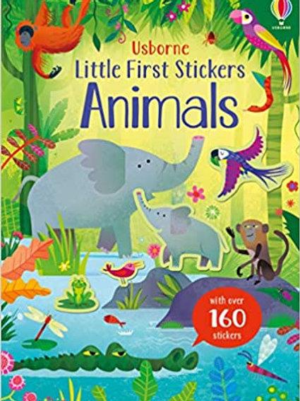 Little First Stickers Animals