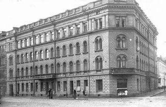 1900-luvun alkupuolella suvun leipomo sijaitsi Viiskulmassa.jpg