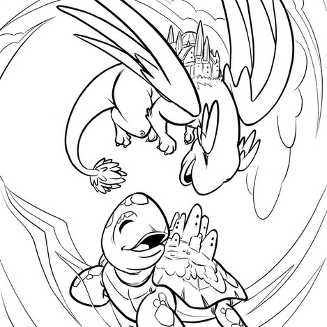 Illustration done for Coloring Book for Kids Vol. 2 (2020) from ComicBooks for Kids.