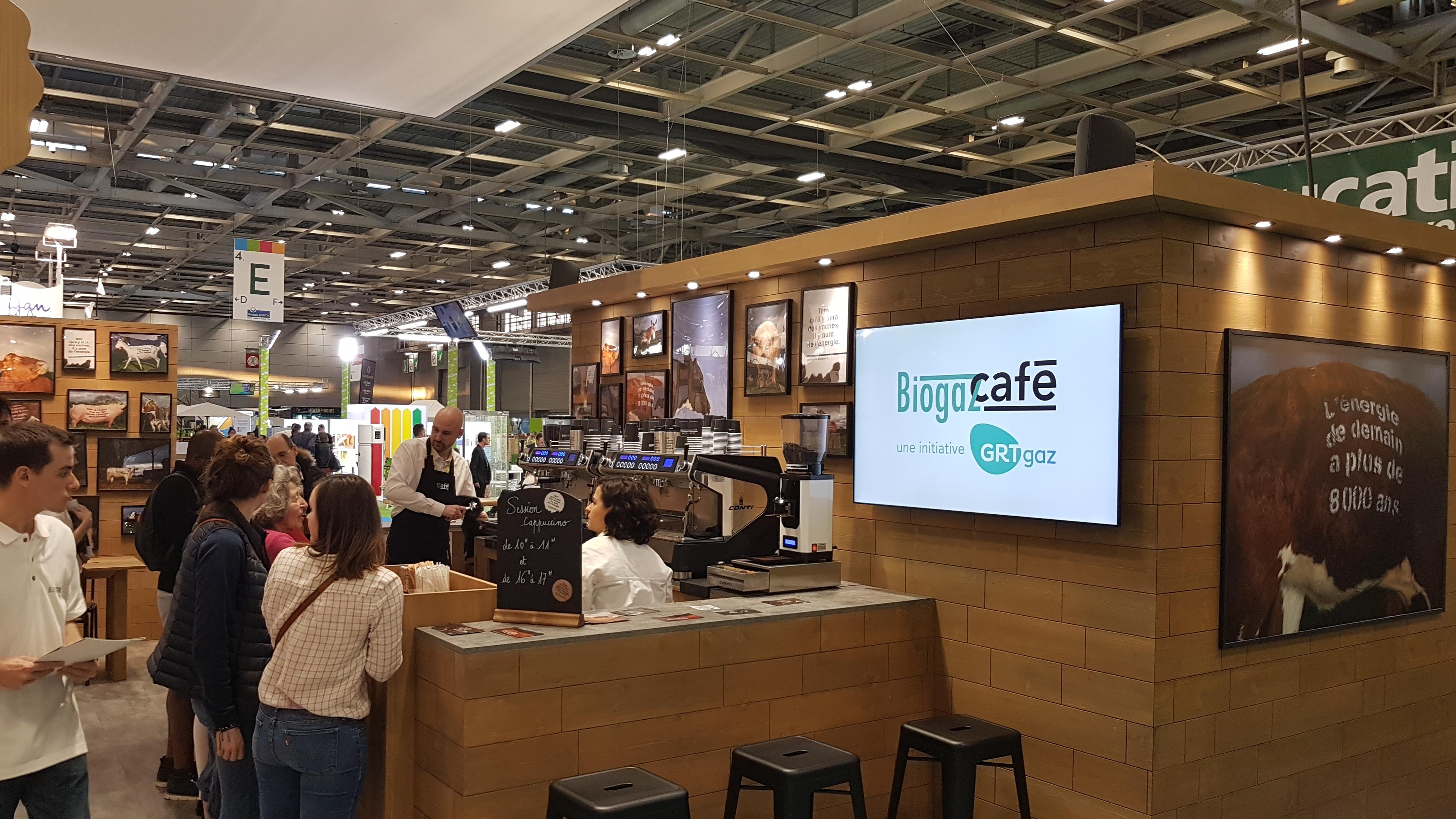 BiogazCafé - Salon de l'Agriculture 2019