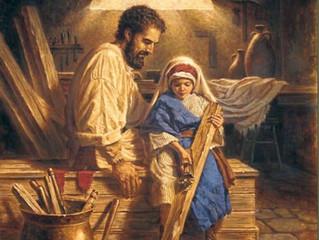 """""""Carta del Padre Dios a su Hijo Jesús""""."""