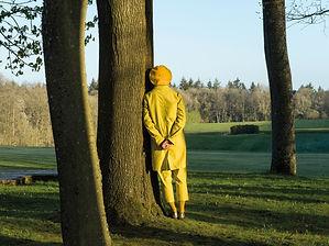 """Elina Brotherus, """"Le Spectateur"""", Baldessari in the Park, 2021. © Adagp, Paris."""