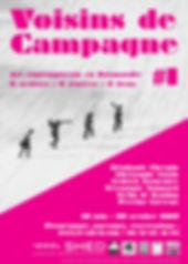 """Affiche """"Voisins de Campagne #1"""""""