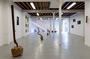 Vue de l'exposition collective «Matter-of-fact», Galerie Duchamp. © Marc Domage