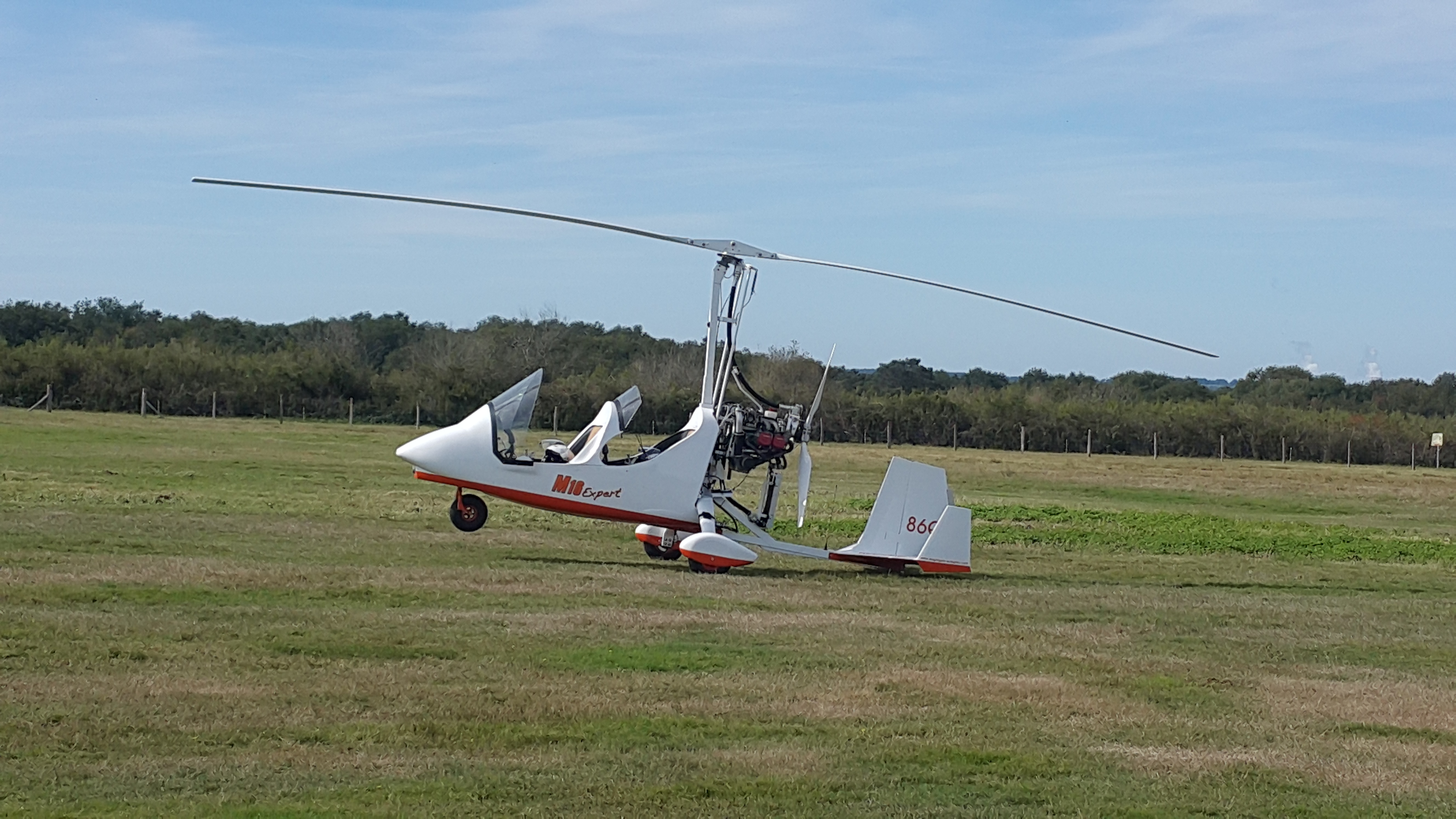 Autogire Gyrocopter tandem