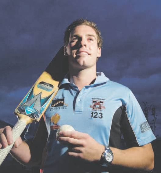 Chris-Lagana-Cricketer-of-the-year-2011-12