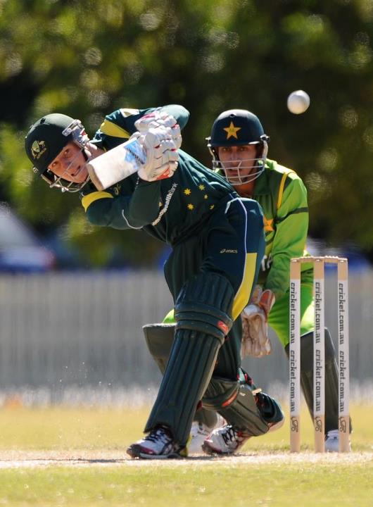 Cam Bancroft 47 vs Pakistan 31072012