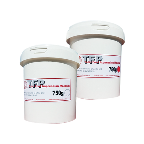 TFP Impression Material 2 Part Kit (2 x 750g)