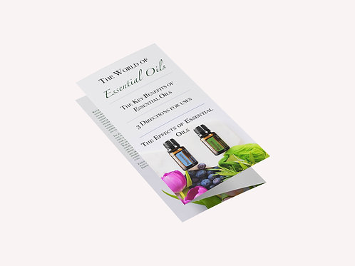The World of Essential Oils Leaflet