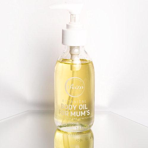 Organic Body Oil for Mum's 150ml.