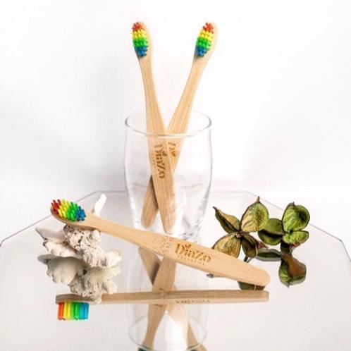 Eco- Friendly Kids Bamboo Toothbrush - Soft Bristles