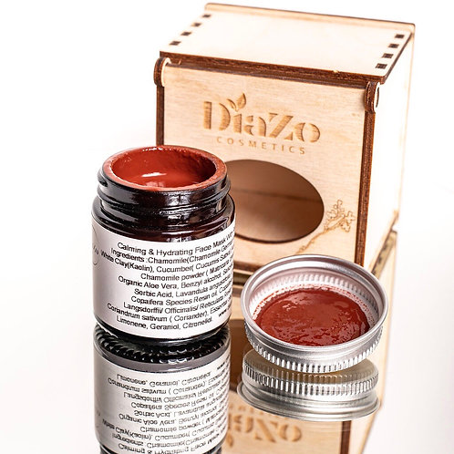 CALMING & HYDRATING FACE MASK WITH RED CLAY - 30ML