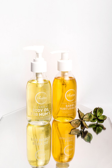 BODY OIL FOR MUMS AND BABYS NURTURING OIL