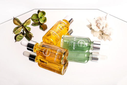 Citrus Bliss, Night Face Serum and Luxurious Rose Oil