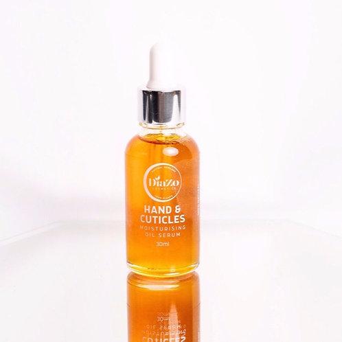 Cuticles and Hand Moisturising Oil Serum 30ml.