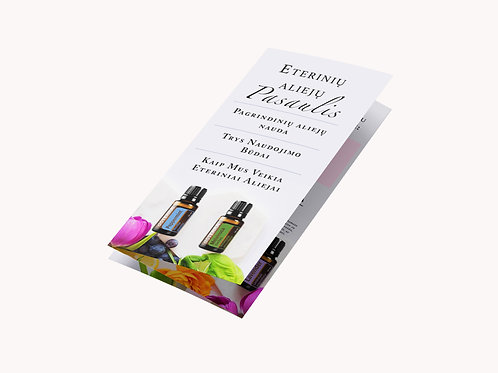 The World of Essential Oils -Lithuanian Leaflet