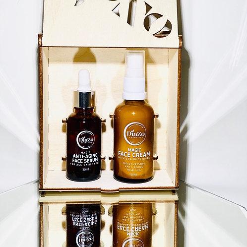 Magic Anti-Aging Face Serum & Cream Gift Set