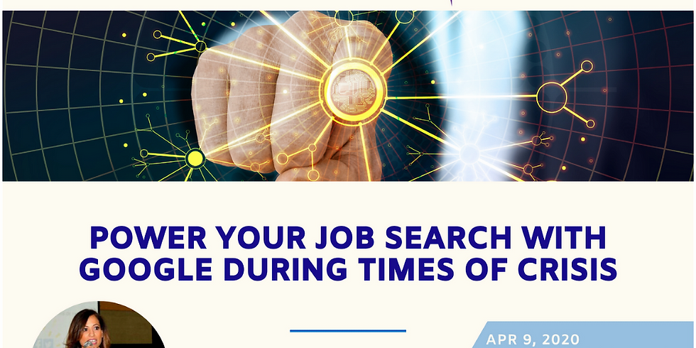 Power Your Job Search With Google During Times of Crisis
