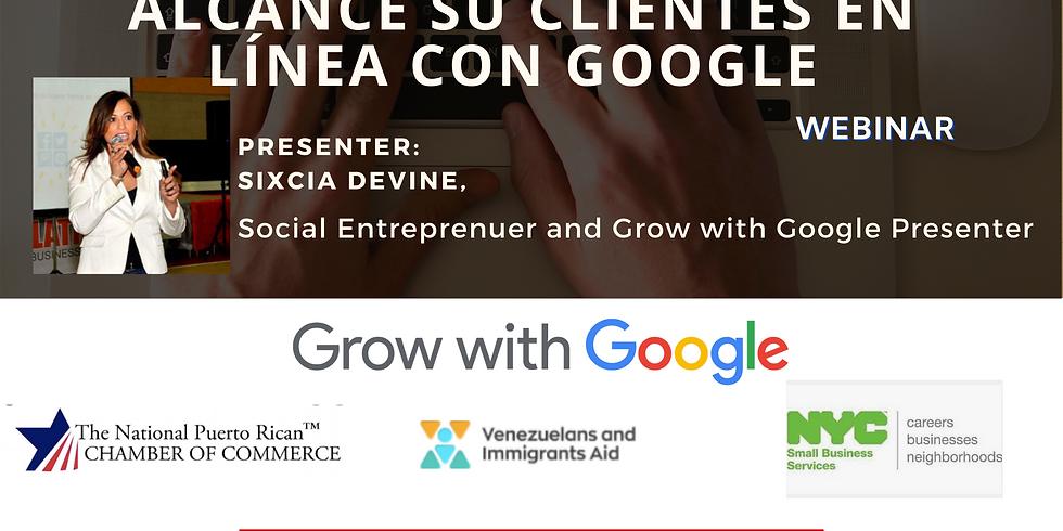 Llegue a los clientes en línea con Google - NYC Small Business Services